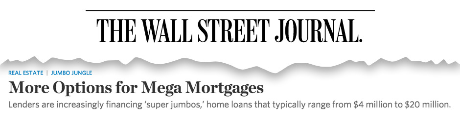 wall street journal, Insignia Mortgage Featured in Wall Street Journal